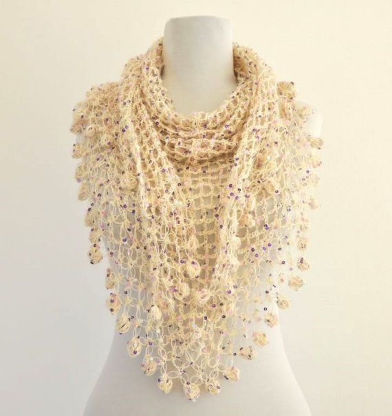 shawl lindas puntadas