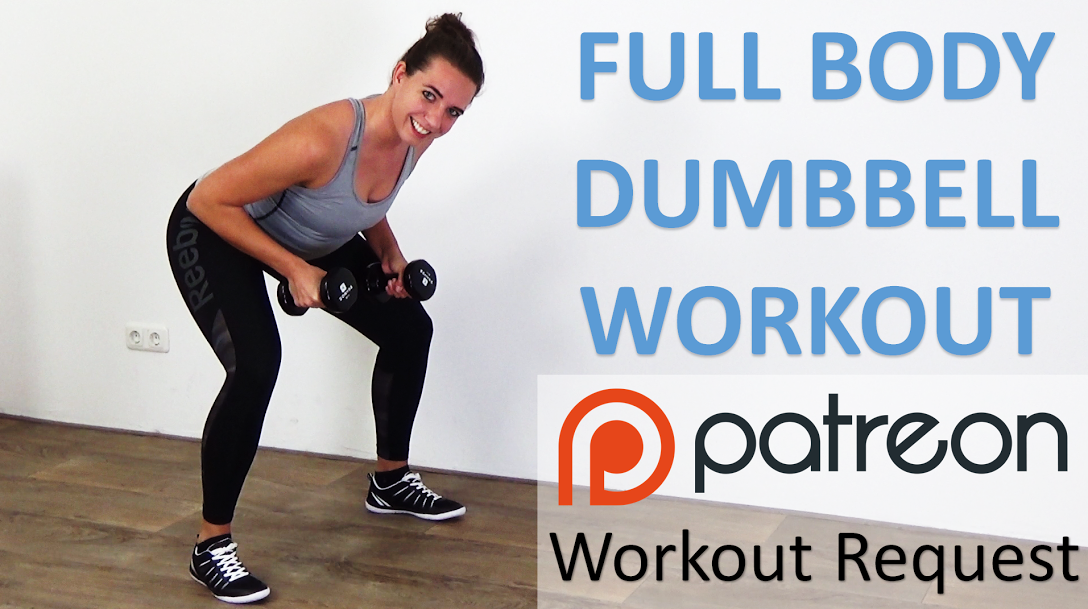 Full Body Dumbbell Workout – 10 Minute Weight Training - https://www.