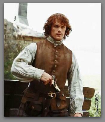 Outlander's  Sam Heughan #Screencap #TV_Guide