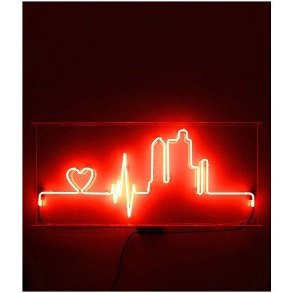 Lighted Pictures Wall Decor lighted signs tumblr ❤ liked on polyvore featuring home, home