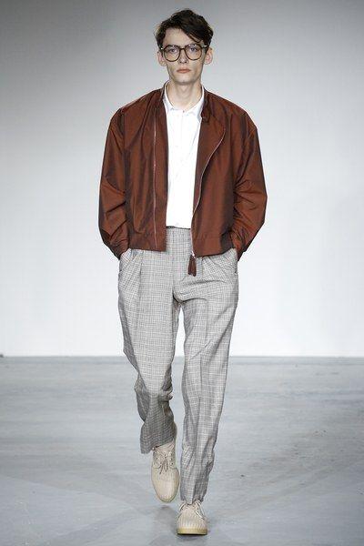 E. Tautz Spring 2018 Menswear Collection Photos , Vogue Mens Fashion