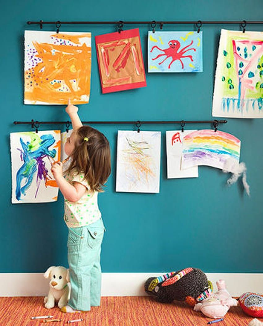 Frugal Framing 10 Ways to Display Artwork Without
