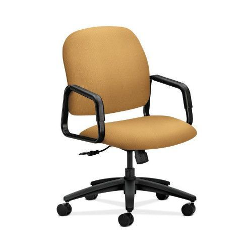 HON Solutions Seating High-Back Chair in Mustard