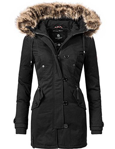 quality design 1c498 e9637 Navahoo Damen Baumwoll Winterparka Winterjacke Pauline ...