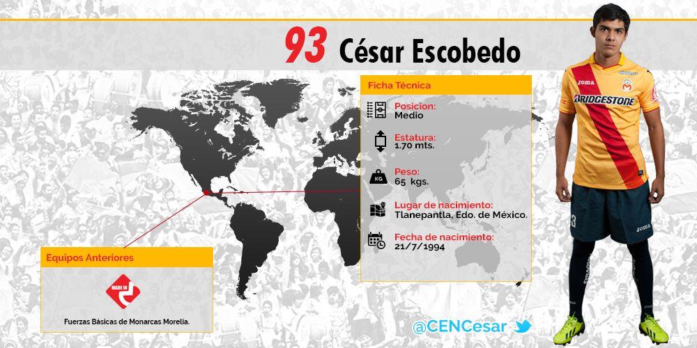 93 César Escobedo - Medio