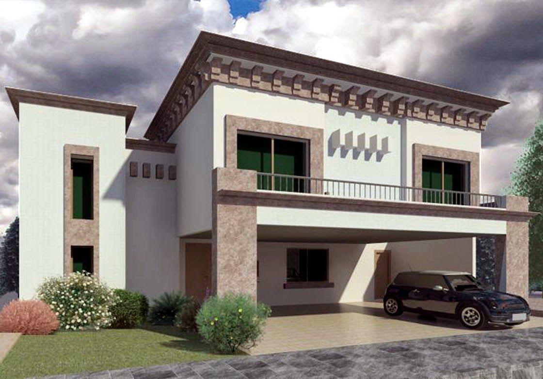 Fachada moderna y elegante fachada pinterest for Casas modernas fachadas bonitas