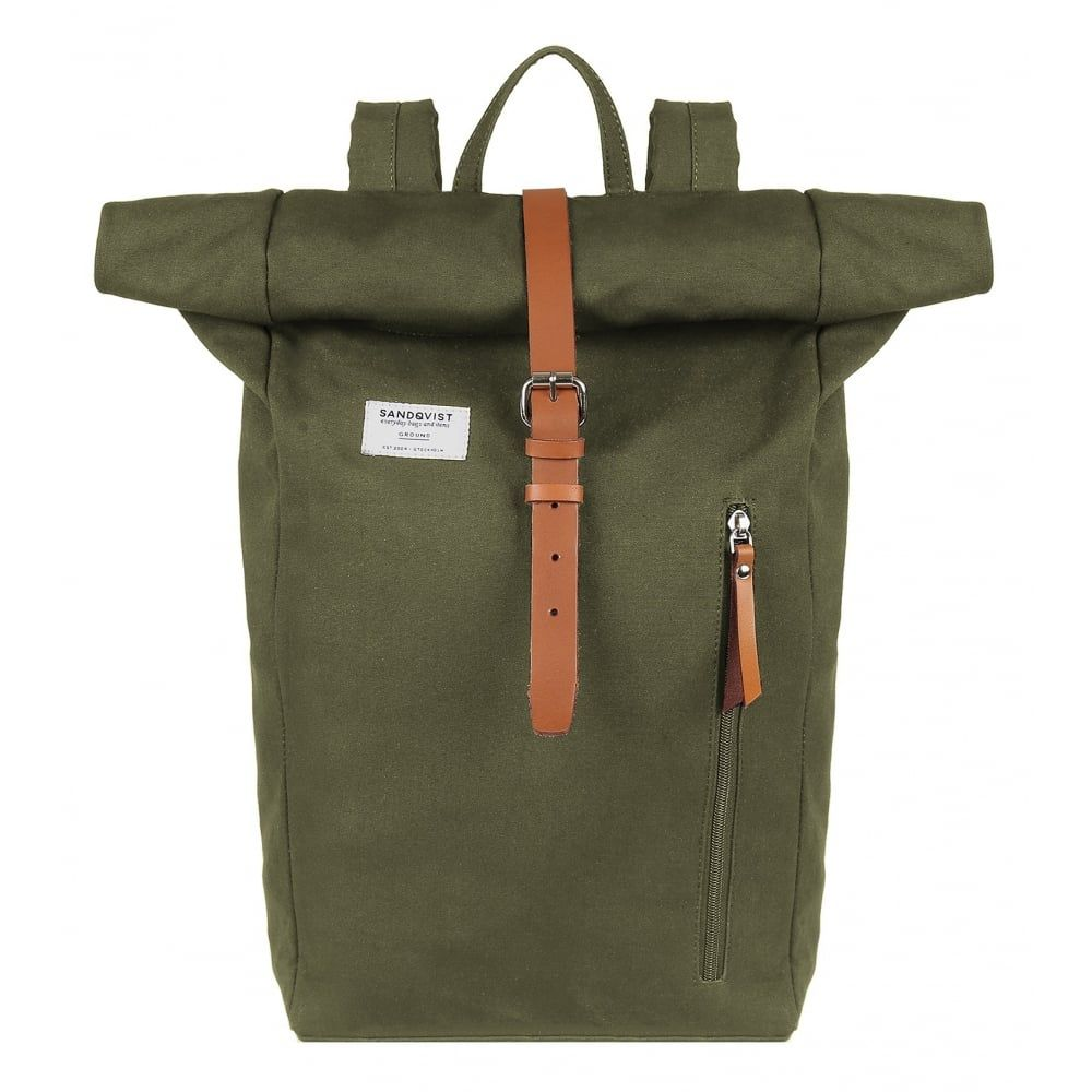 Sandqvist Dante Backpack Bags From Country House Outdoor Uk Rolltop Backpack Backpacks Blue Backpack