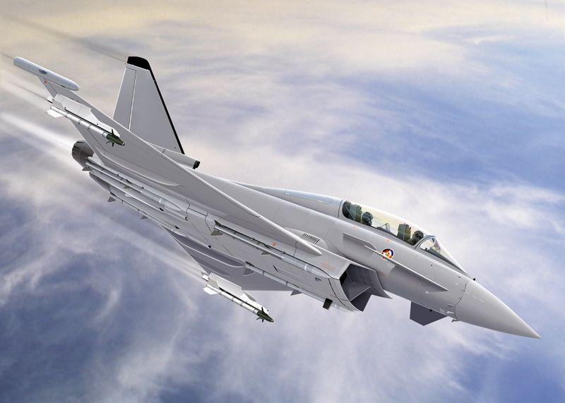 Italeri 12001 EF-2000 Typhoon