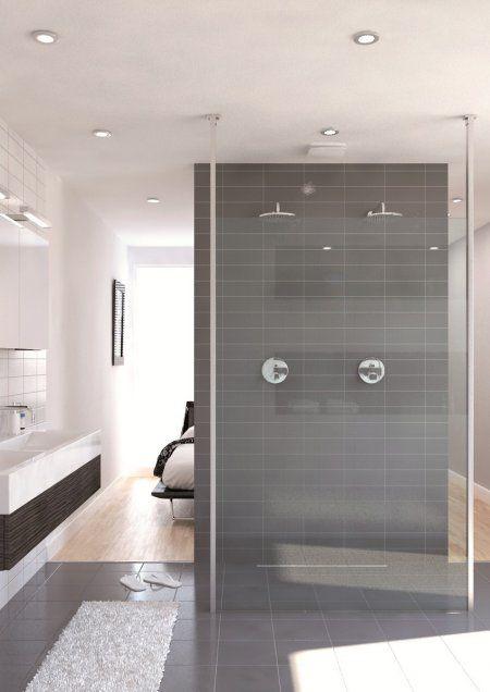 Dubbele douche hebben we genoeg ruimte badkamer idee n pinterest dubbele douche - Badkamers bassin italiaanse design ...