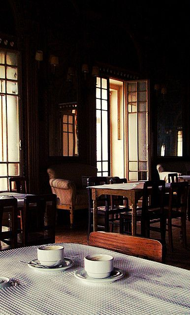 An Afternoon At The Cafe By Dee Nonsense Dreamer Via Flickr Coffee Cafe Coffee House Coffee Shop