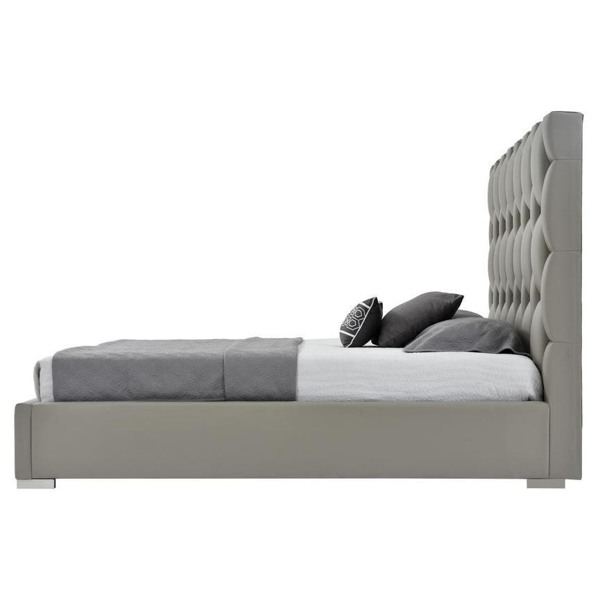 Livia Gray King Platform Bed In 2020 King Platform Bed Comfy