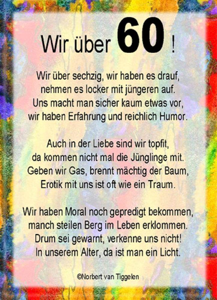 Gluckwunsche Zum 60 Geburtstag Fur Einen Mann Spruche Zum