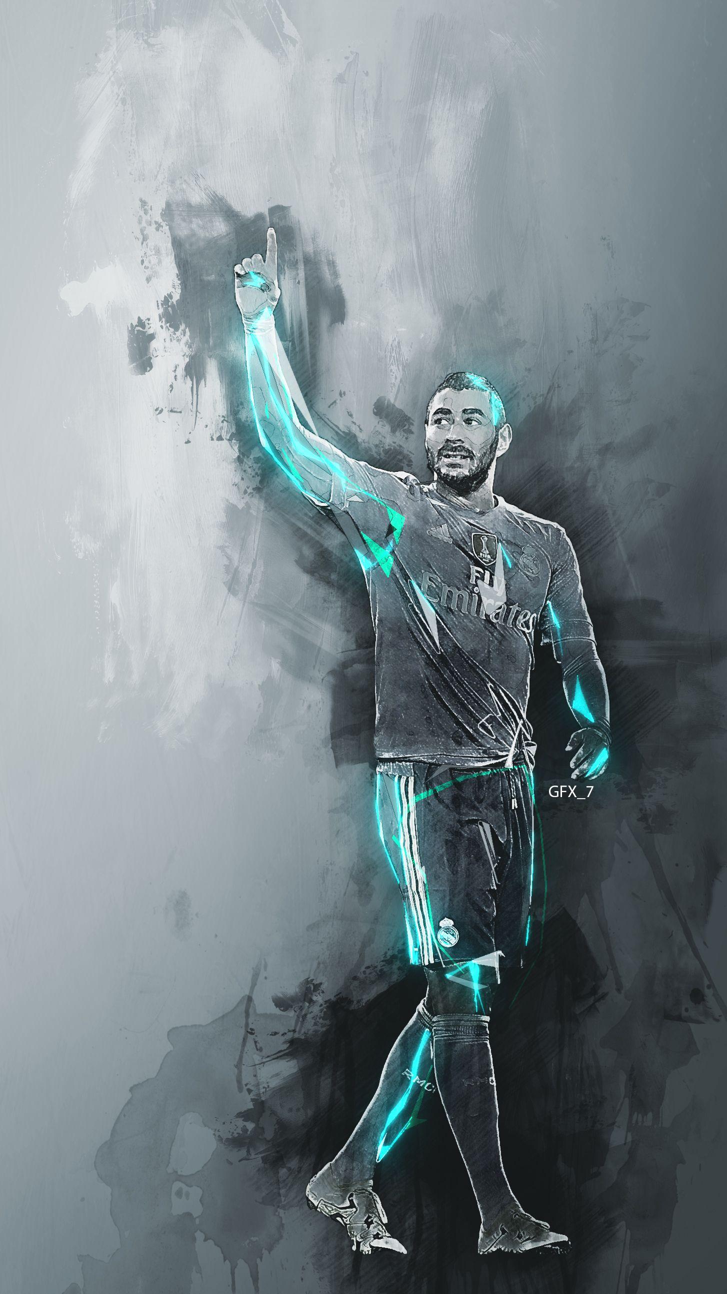 Karim Benzema Wallpaper Footballeur Toile Humour