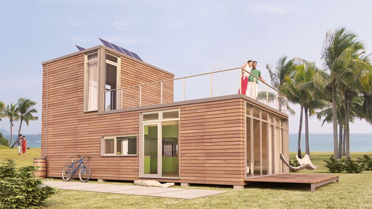 Prefab Container Homes contemporary house made out out shipping containers   modernica