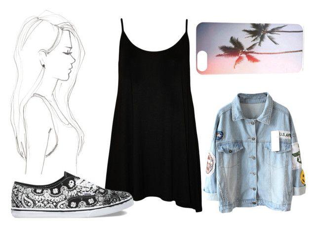 """xox / Høllywøød Høttiē"" by haileymadisonnn ❤ liked on Polyvore featuring Monique Péan, WearAll and Vans"