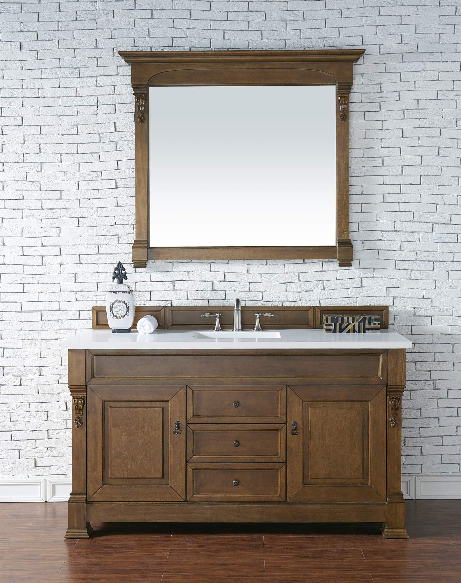 James Martin SNW Brookfield Inch Country Oak Single