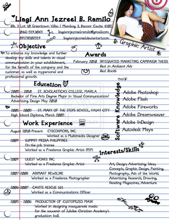 The 16 Most Creative Resumes Weu0027ve Seen Resume cv and Creative - most creative resumes