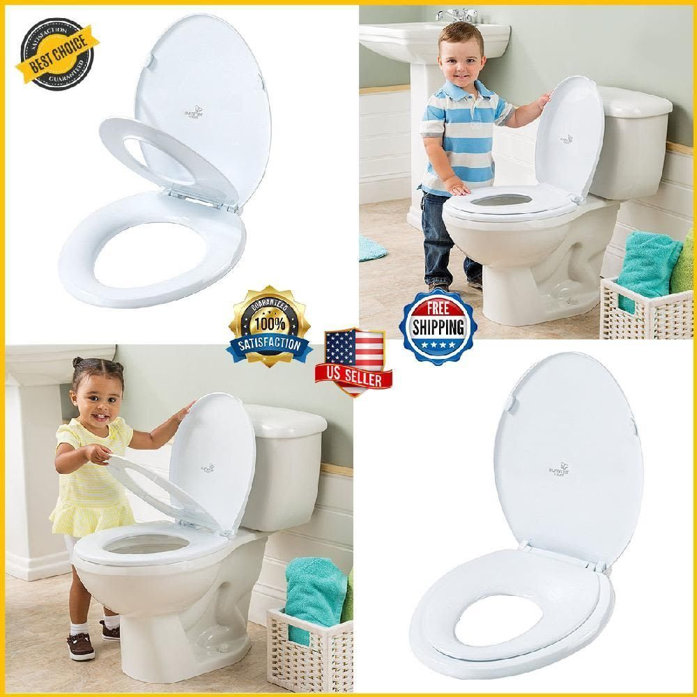 Adult Toilet Kid Child Training Seat Built In Potty Cover Baby