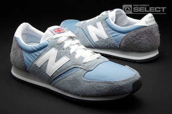 New Balance Trainers - New Balance 420 - Mens Trainers - Sky Blue ...