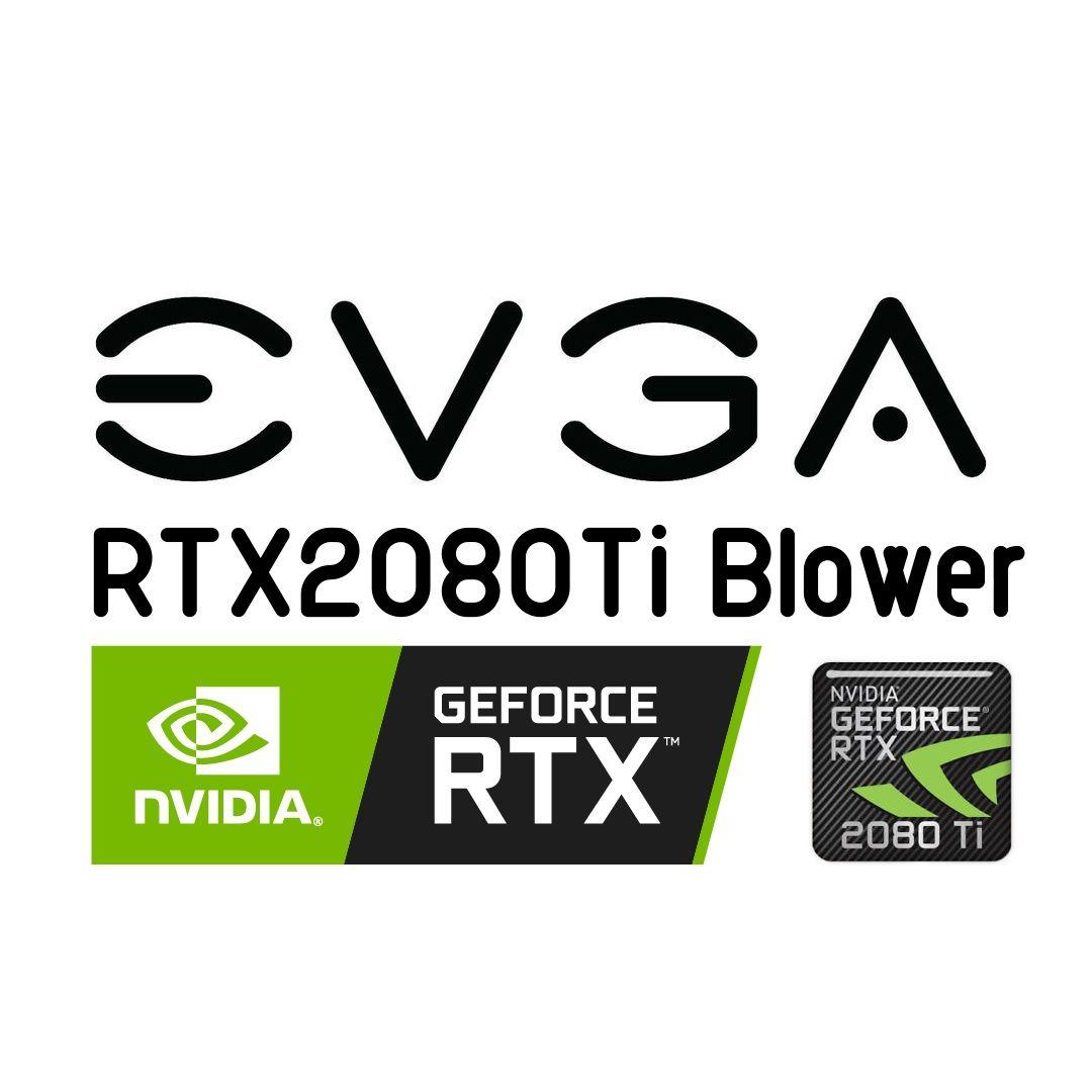 Evga Rtx2080ti Blower 11gb Nvidia Geforce Gddr6 Vga Graphic Card 11g P4 2280 Kr Graphic Card Nvidia Vga