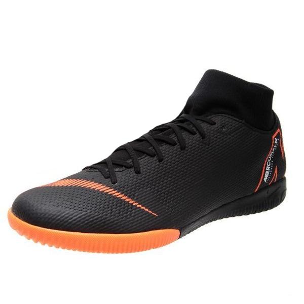 a108ec472 Nike Mercurial Superfly X 6 Academy IC Indoor Soccer Shoes (Black/Orange)