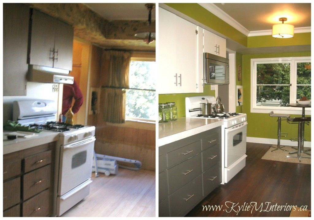 Best Before And After Budget Friendly Kitchen Remodel With 2 640 x 480