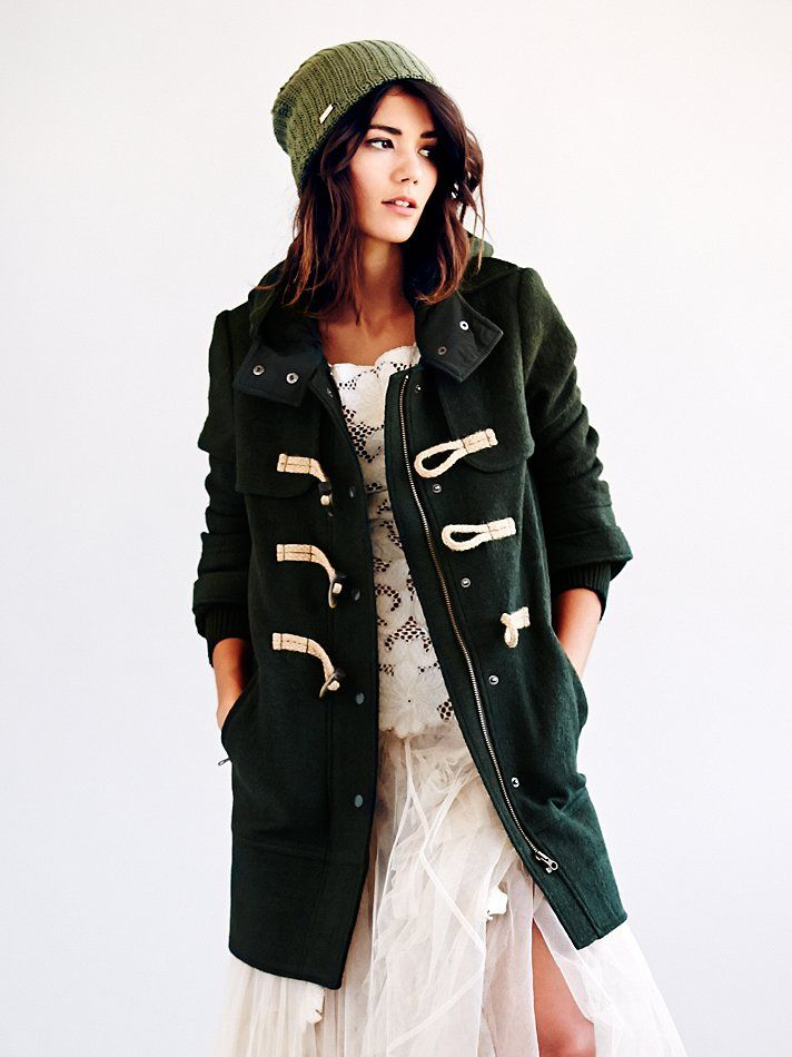 Free People Wooly Toggle Coat, 298.00