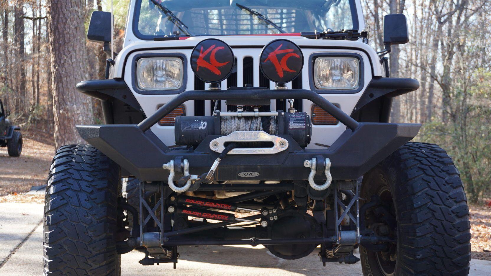 1995 Jeep Wrangler Custom Presented As Lot L34 At Kissimmee Fl Custom Jeep Wrangler Jeep Wrangler Wrangler