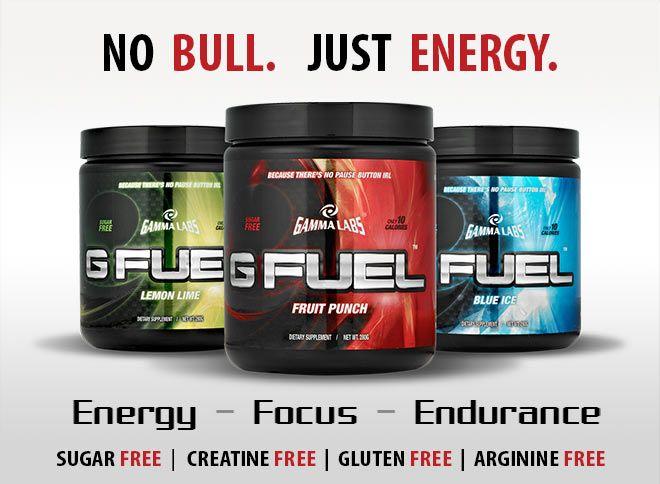 Gamma Labs G FUEL - No Bull. Just Energy. Energy* - Focus ...