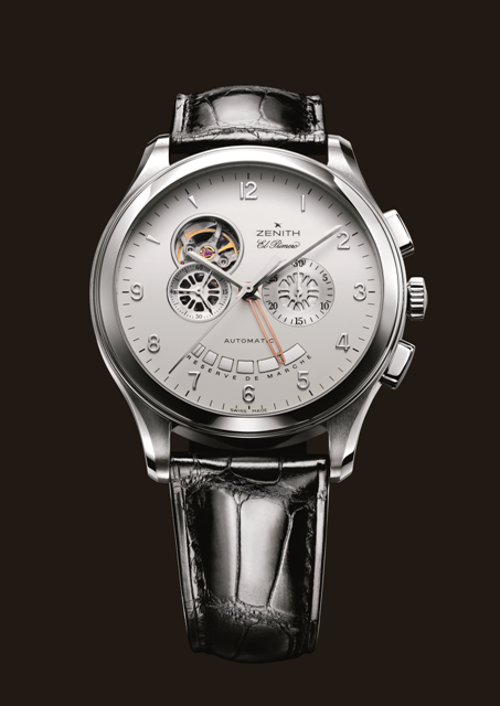 Zenith Grande Class XXT Open (SS   Silver Guilloche   Leather) this week  on. www.augustatime.com (OUTLET) d0270920d9