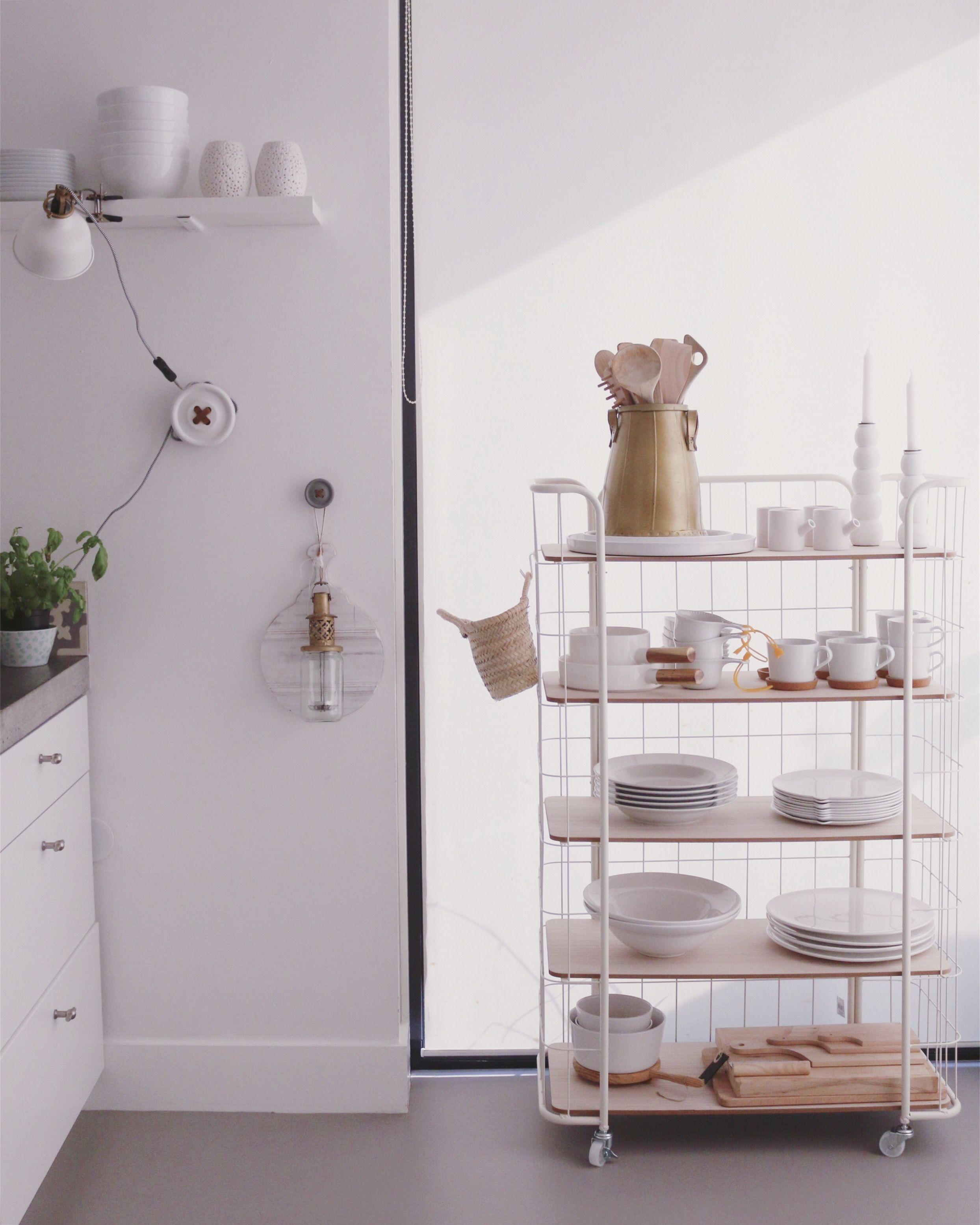 Bakkerskast in de keuken woonkamer pinterest keuken huisdecoratie en decoratie - Keuken decoratie ideeen ...
