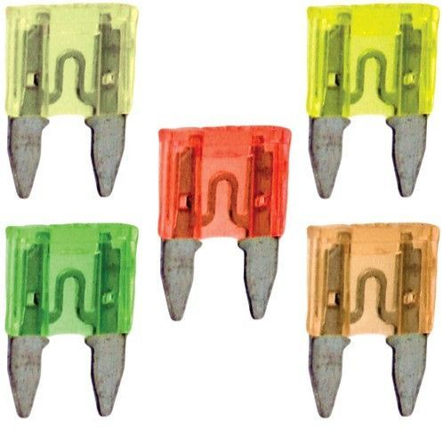db link - atm mini fuses, 25 pack (15 amps) Case of 9