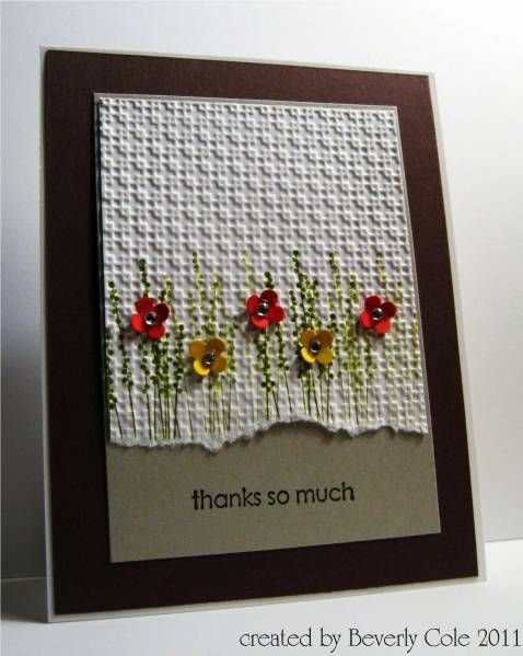 THANK YOU... by beestamper - Cards and Paper Crafts at Splitcoaststampers