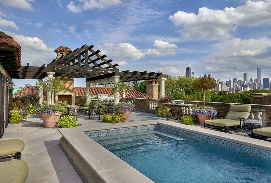 Lincoln Park Tuscan Home With A Vision Of Old Italy And An