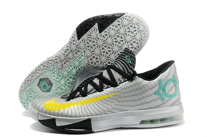 black and white kd 6