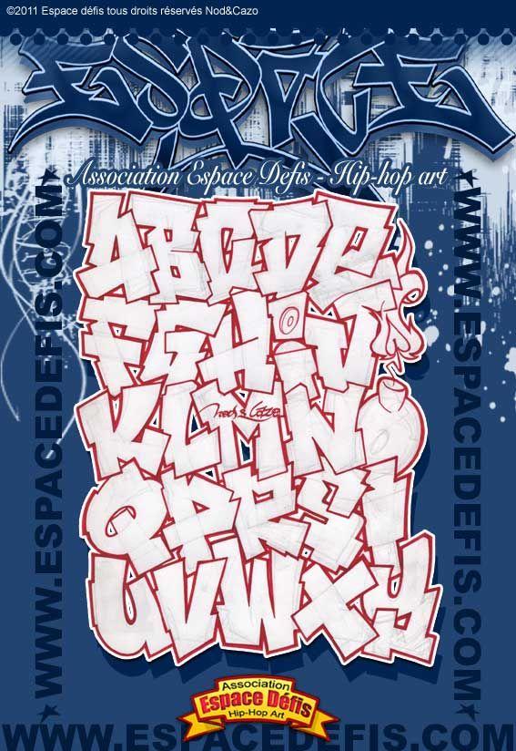 Alphabet Graffiti Lettre Baton Simple Style Pour Etre Mis En Couleur Vous
