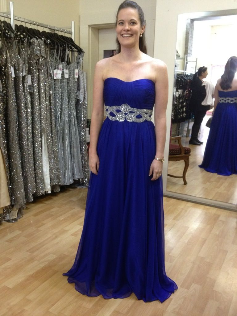 Gorgeous royal blue bridesmaid dress villoni melbourne less gorgeous royal blue bridesmaid dress villoni melbourne less bling but i like it ombrellifo Gallery