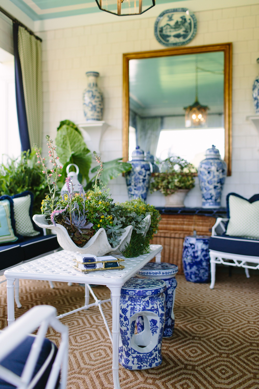 2017 Hampton Designer Showhouse: The Outdoor Spaces   Porch designs on hampton designer bedrooms, hampton home, hampton design,