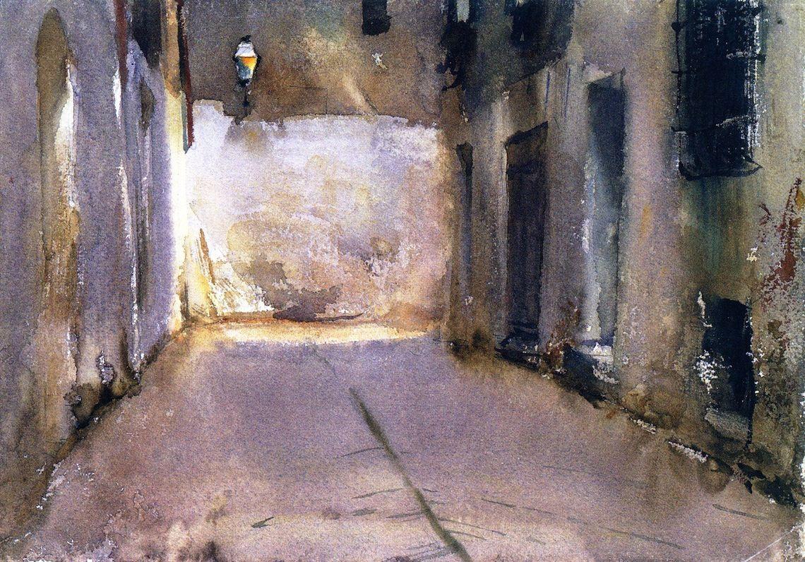 Venice John Singer Sargent - circa 1880-1881