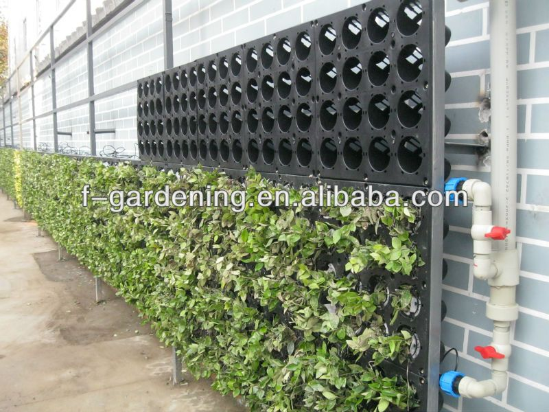 jardin vertical artificial vertical wall garden