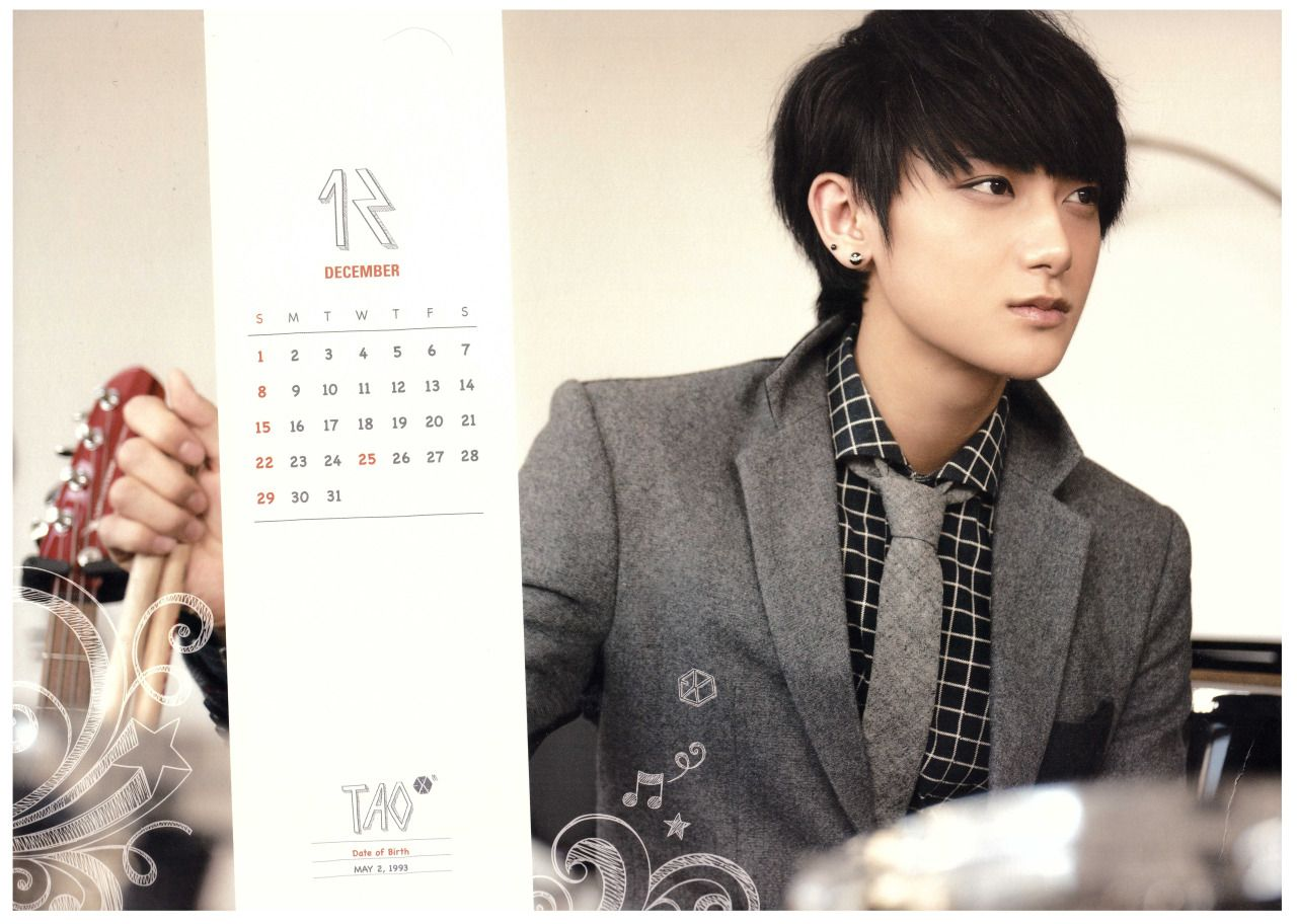 K Pop Idols In Suits Inactive Photo Tao Tao Exo Kpop