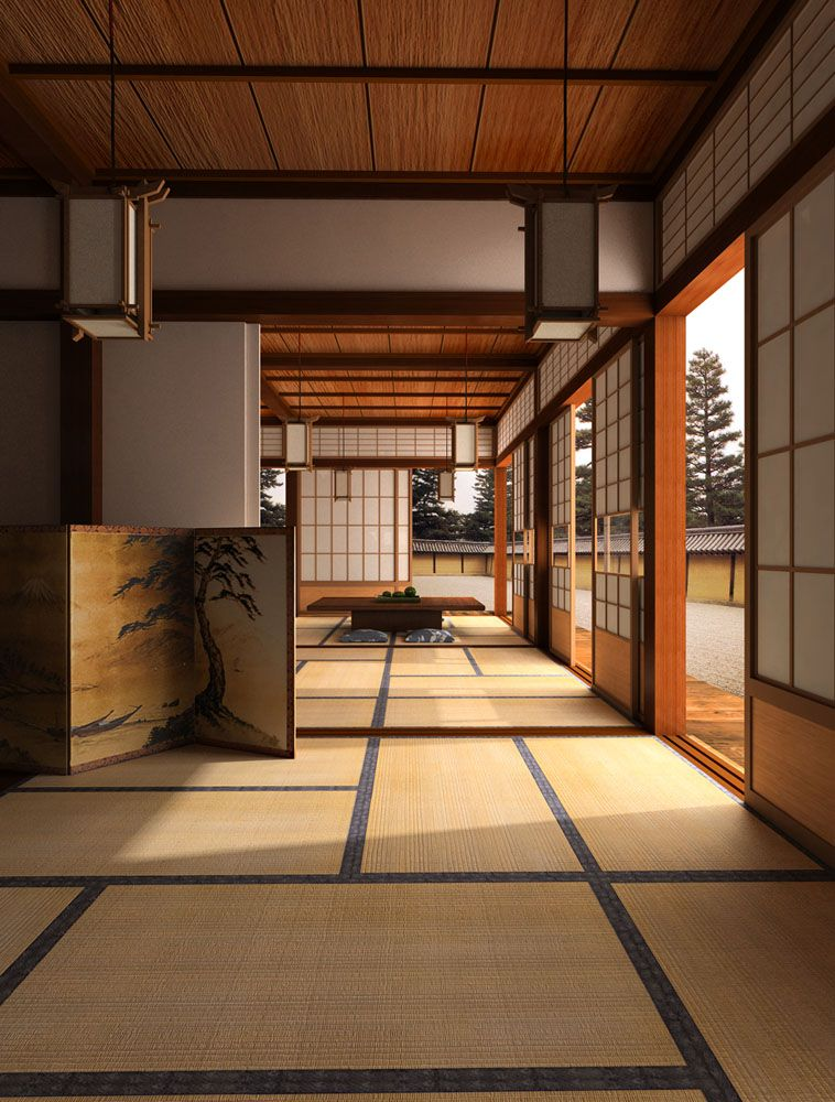 Create a zen interior with japanese style influence see for Zen interior design