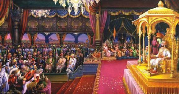 Shivaji Maharaj Rajyabhishek Wallpaper Download Raje Image