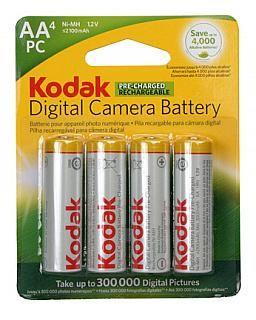 Kodak Aa Ni Mh 2100 Mah Rechargeable Batteries 4 Pack Camera Batteries Digital Camera Rechargeable Batteries
