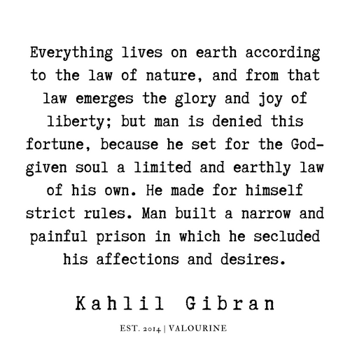3  | Kahlil Gibran Quotes | 190701 Art Print by Quotes And Sayings