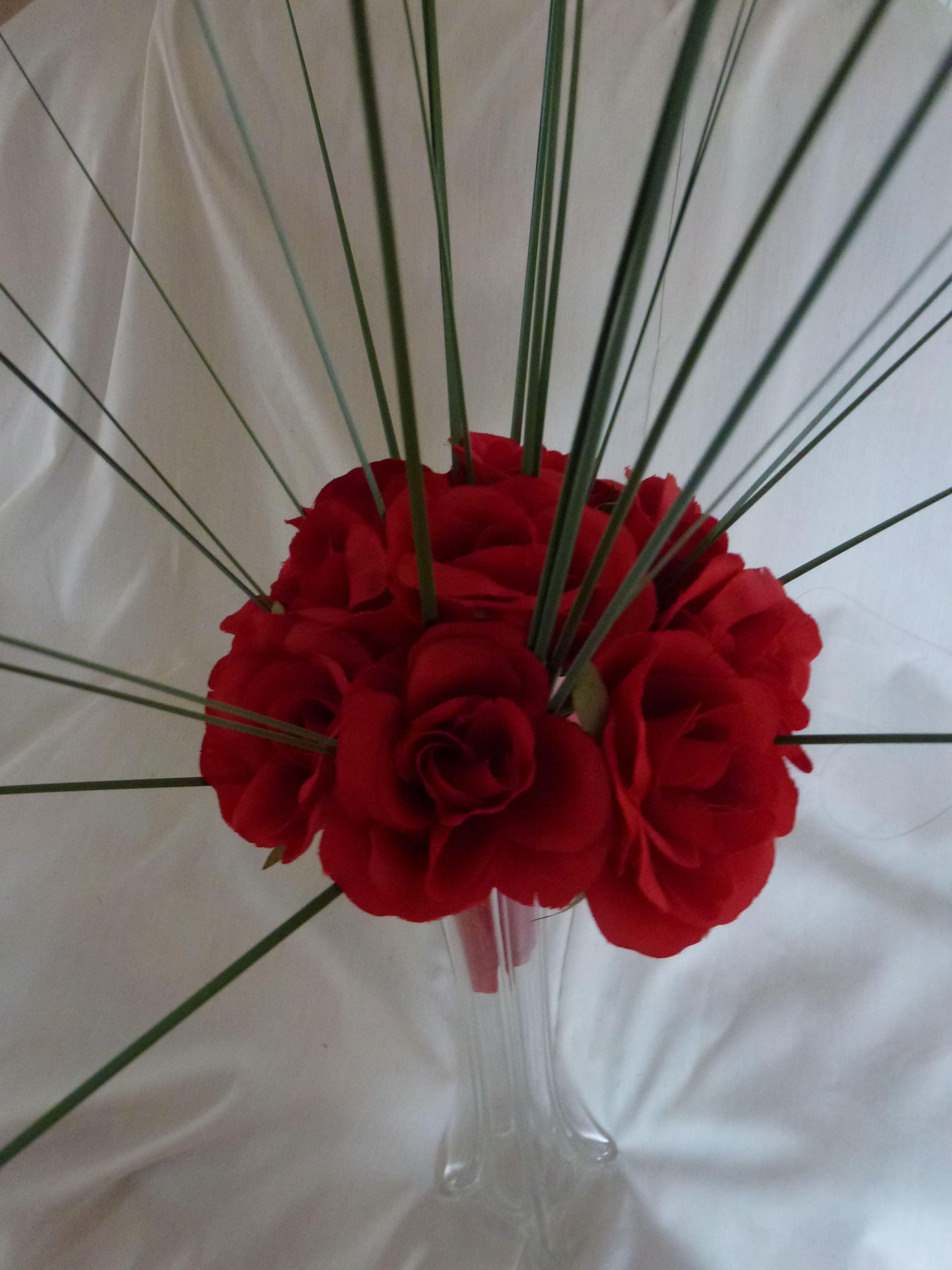 Red Rose Wedding Bouquet by Indigo Blooms   Wedding Bouquets ...