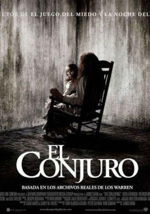 El Conjuro Cartazes De Filmes De Terror Invocacao Do Mal Terror