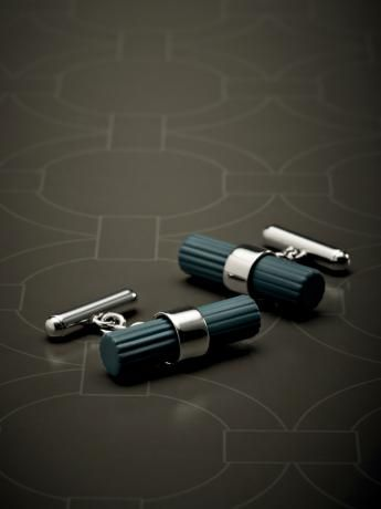 Metal #cufflinks with rubber finish. #fw13 #men #accessories