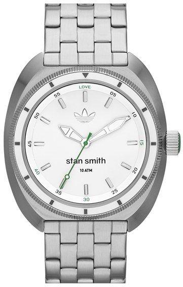 hot sale online 3ca17 db10b adidas Originals  Stan Smith  Bracelet Watch for men, 42mm