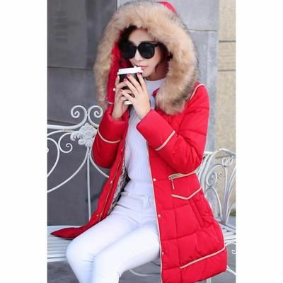 manteau femme rouge c discont